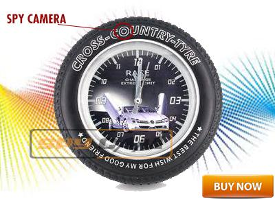 Spy Wall Clock With Remote Control In Delhi India