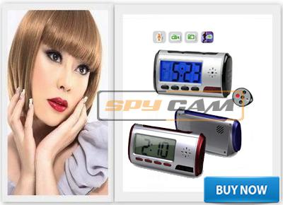 Spy Long Time Recording Digital Table Clock, Sony Camera 16gb In Delhi India