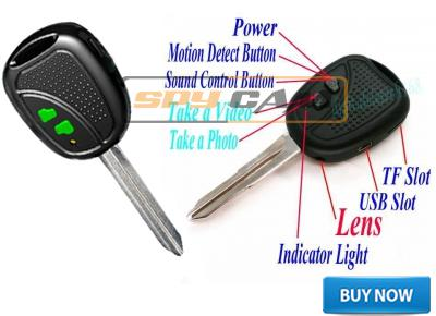 Spy Voice Activated Vibration Keychain Camera In Delhi India