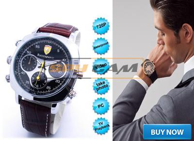 4gb  Spy  Water Proof Digital Wrist Watch Camera In Delhi India