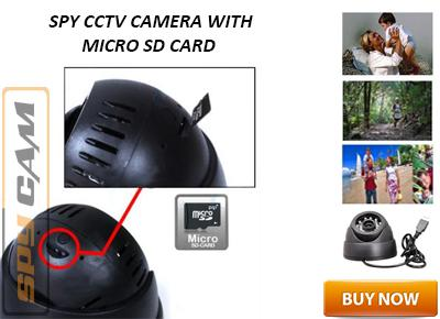 Spy CCTV Camera with Micro SD Card Facility In Spy Delhi