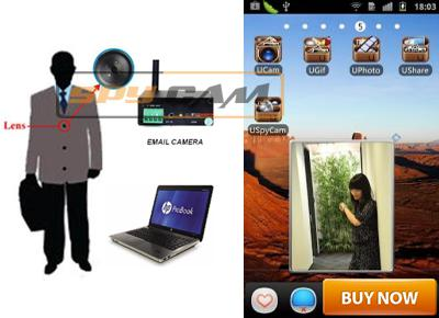 Spy Email Camera In Spy Delhi