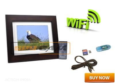 Spy Wi-Fi Photo Frame Camera In Spy Delhi