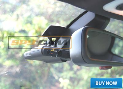 Dual Lens Dashboard Camera Cam Car DVR Black Box Video Recorder+ GPS Logger In Spy Delhi