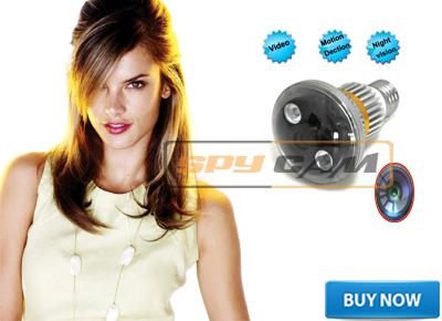 Spy CCTV Bulb Camera In Delhi India