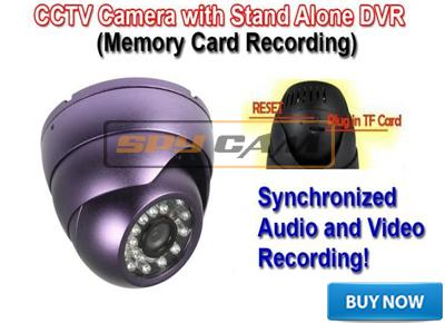 Spy CCTV Camera With In Built DVR In Spy Delhi