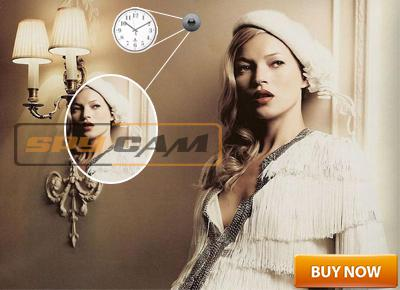 New Launch Spy Wall Clock Camera 20 Hours Recording In Spy Delhi
