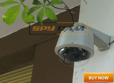 CCTV Outdoor 700tvl Sony 10x Optical Zoom Mini Ptz Speed Dome Camera with Controller In Delhi India
