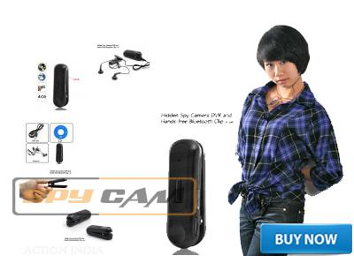 Spy Hidden Clip Bluetooth Camera In Delhi India