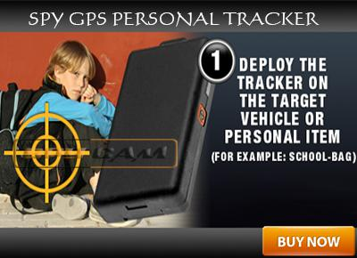 Spy GPS Personal Tracker In Delhi India