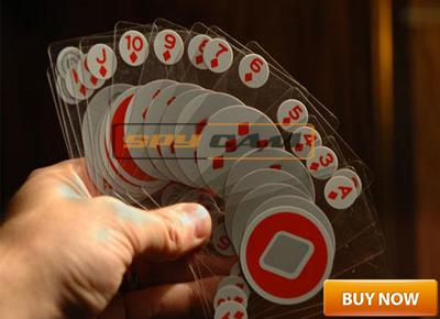 SPY INVISIBLE PLAYING CARD