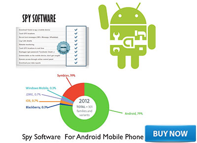 SPY SOFTWARE FO ANDROIDE MOBILES