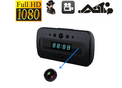 HIDDEN CAMERA CLOCK HD 1080P REMOTE NIGHT VISION