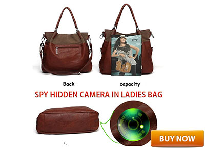 SPY LADIES HANDBAG HIDDEN CAMERA