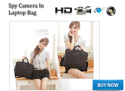 SPY LAPTOP OFFICE BAG CAMERA