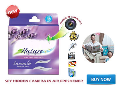 SPY INVISIBLE ROOM FRESHENER CAMERA