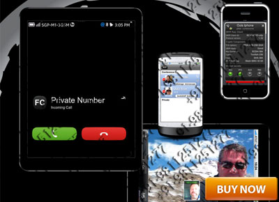PRIVATE NUMBER SHOW DURING CALL