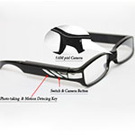 Spy HD Glasses Camera