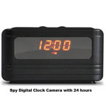 Spy Digital Alarm Table Clock Camera
