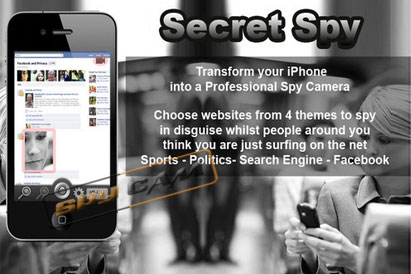 Spy Camera in I-Phone