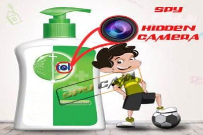 Spy Hidden Dettol Camera For Long Recording
