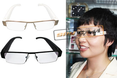 Spy Ultra Thin Model Glasses Camera