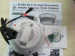 spy wi fi smoke detector camera in delhi india. Black Bedroom Furniture Sets. Home Design Ideas